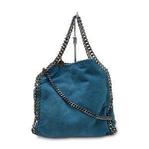 Stella McCartney Mini Falabella Fold Over Tote Bag